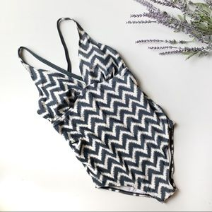 Liz Lange Chevron Maternity Suit